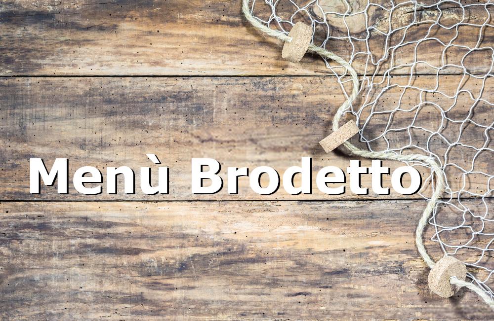 menù Brodetto