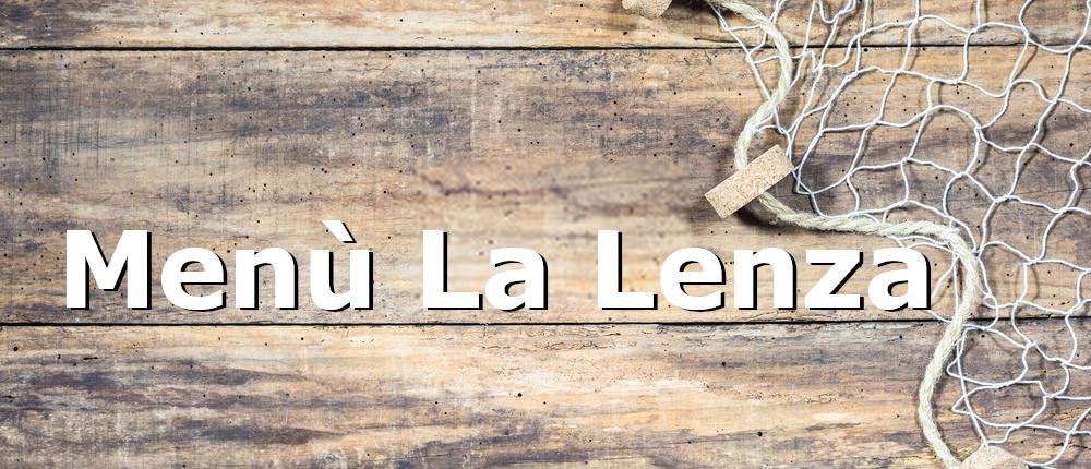 menù La Lenza