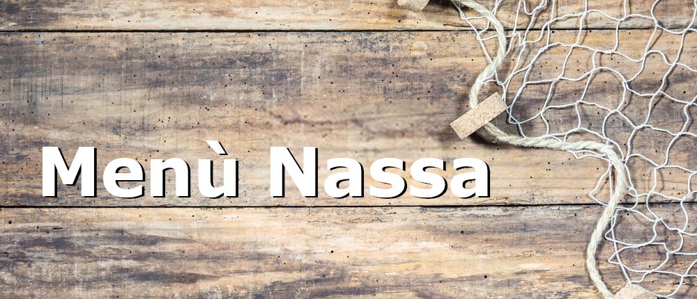 menù Nassa